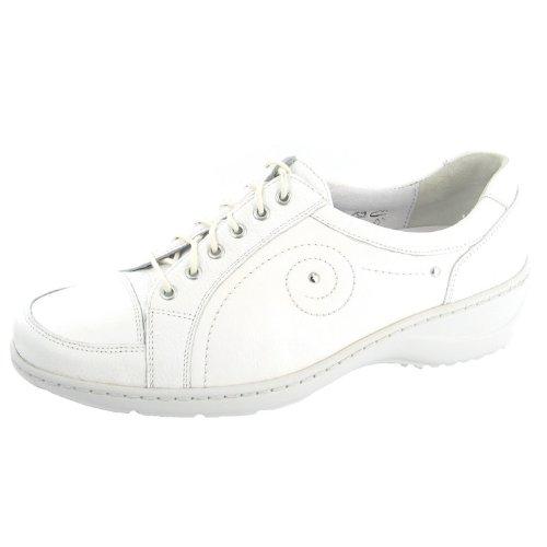Blanc 607012172150 Waldläufer Femmes Chaussures Kya À Lacets wSxnvqTUn