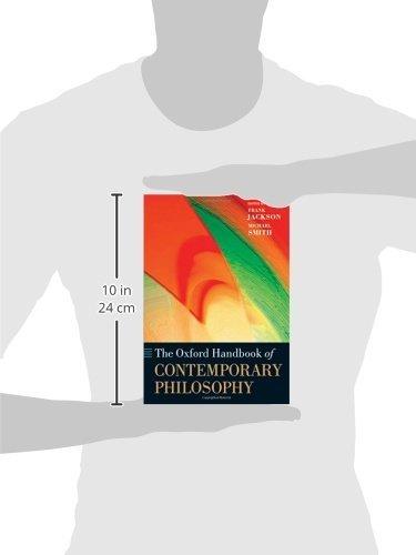 The Oxford Handbook of Contemporary Philosophy (Oxford Handbooks) by Oxford University Press