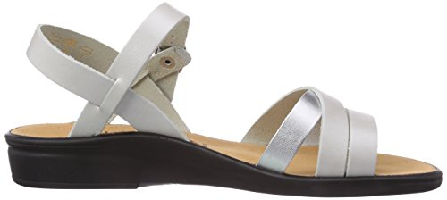 Weite Ouvertes Sandales Blanc E Sonnica Femme Silver Offwhite Ganter 0476 IfwqP51