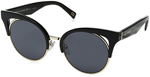- Marc Jacobs Women's Marc215s Polarized Cateye Sunglasses, BLACK, 51 mm