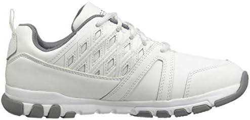 REEBOK WORK Women's Sublite Work Steel Toe Athletic Oxford Sneakers, White