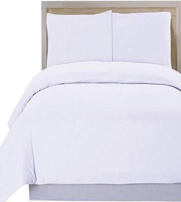 Utopia Bedding 3pc Microfiber Duvet Cover Set