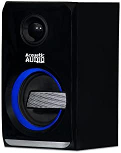 Acoustic Audio LED Bluetooth 2.1-Channel Home Theater Stereo System Black (AA2105) 31CZLdn4w5L
