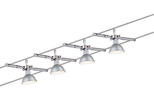 Plafoniere Ufficio Led : Paulmann mac led corda system faretto da soffitto luci set