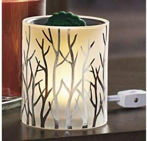 Yankee Candle Silver Winterscape Forest Glow LED Electric Wax Melts Warmer by Yankee Candle (Image #2)