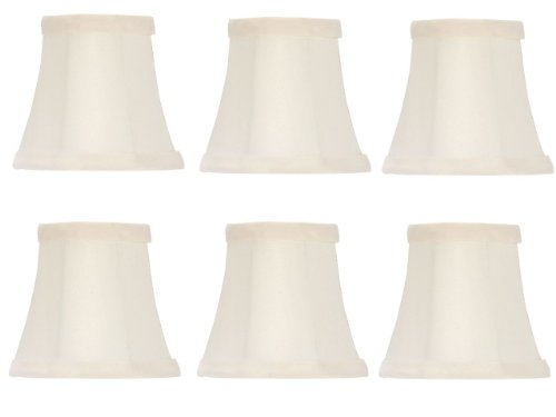 Upgradelights Set of Six - 5 Inch Off Wh - White Wicker Shade Shopping Results
