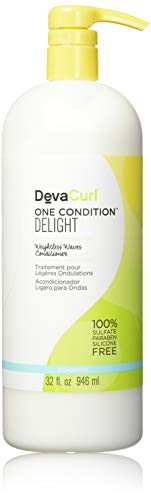 - DevaCurl One Condition Delight Conditioner; 32oz