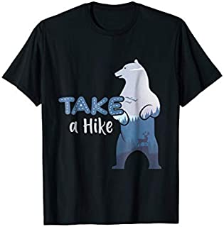 Cool Gift Take A Hike Bear Funny Camping Tshirt Camping Lover Gifts Women Long Sleeve Funny Shirt