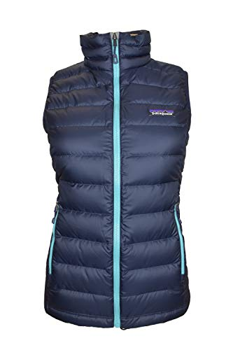 Vest Mens Down Patagonia (Patagonia W's Down Sweater Vest Navy Blue w/ Strait Blue (Navy Blue w/ Strait Blue))