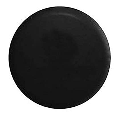 American Educational Products Marine Grade - Top Quality Blank Black Dealer Quality Spare Tire Cover OEM Vinyl