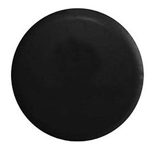 American Educational Products Marine Grade - Top Quality Blank Black Dealer Quality Spare Tire Cover Vinyl Black 29 in