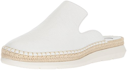 Calvin Klein Women's Verie Mule, Platinum White, 9.5 Medium US by Calvin Klein