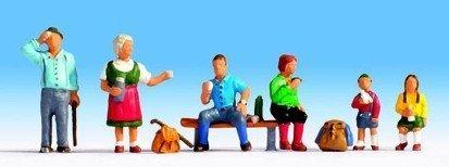 servicio honesto NOCH 15872 15872 15872 H0 'Hikers' figures by Noch  marca famosa