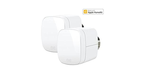 Elgato Eve térmica - Termostatos con Apple homekit de soporte, Bluetooth Low Energy, 1ET109907010: Amazon.es: Bricolaje y herramientas