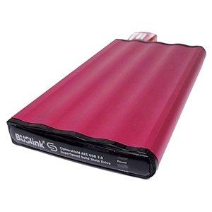 BUSlink 500GB CipherShield USB 3.0 AES 128-bit Key Encrypted Solid State Drive (SSD)