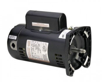 Square Flange Full Rate Motor - AO Smith/Century Electric Full Rate, Single Speed, 0.5HP, 3450RPM, 230/115V, 4.8/9.6 AMPS, 1.9SERVICE Factor, Square Flange