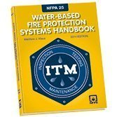 NFPA 25, 2014 EDITION WATER-BASED FIRE PROTECTION SYSTEMS HANDBOOK Hardcover 2013