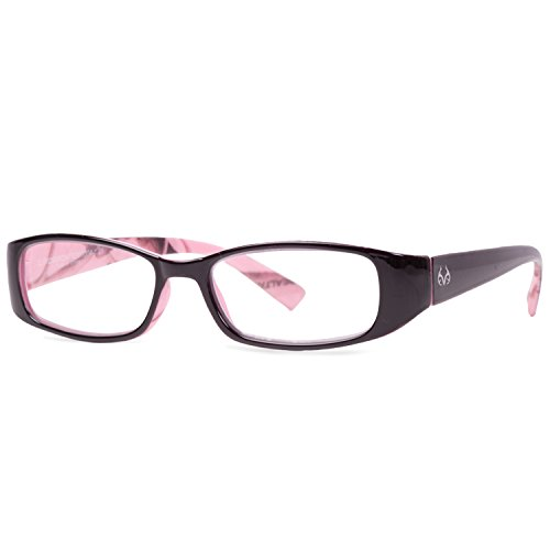 Realtree Monarch Women's Reader Glasses - Realtree AP Pink Camo - Black Frame - - Camo Glasses Pink Frames