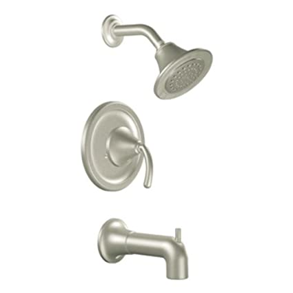moen ts2156bn icon moentrol tub and shower trim kit without valve