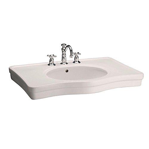 Elizabethan Classics ECETCLSBI English Turn 8-1/2-Inch Console Sink Basin, Bisque (Classics Elizabethan Console)
