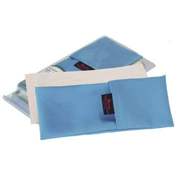 Yoga Eye Pillow Lavender Flaxseed Relax Eye Patch Meditation Yoga Eye Mask - Fitness Wellness Yoga - (Blue) - 1Eye pillow, 1A pack of plant seed v style=