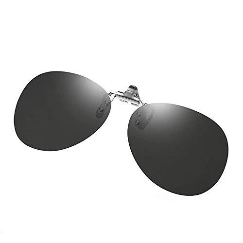 - Polarized Clip-on Sunglasses Anti-Glare UV 400 Protection Aviator Sun Glasses Clip On Prescription Glasses (Aviator-black)