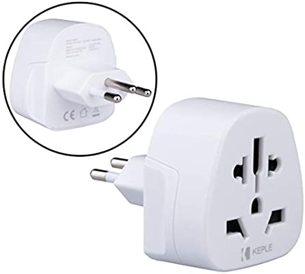 Brazil Brasil, South Africa Sudáfrica Adapter Viaje Plug Tipo N to a UK, US USA American, Australia, EU Europe European, China, Swiss, Japan, Spain Adaptador Universal Enchufe Internacional 3 Pin: Amazon.es: Electrónica