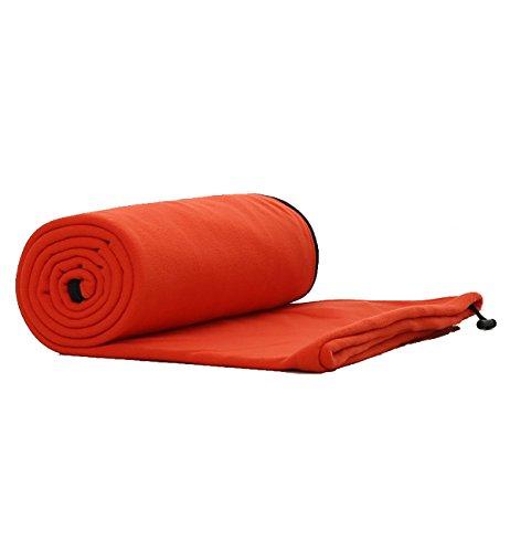 E-Onfoot Warm Cozy Microfiber Fleece Zippered Sleeping Bag Liners ()