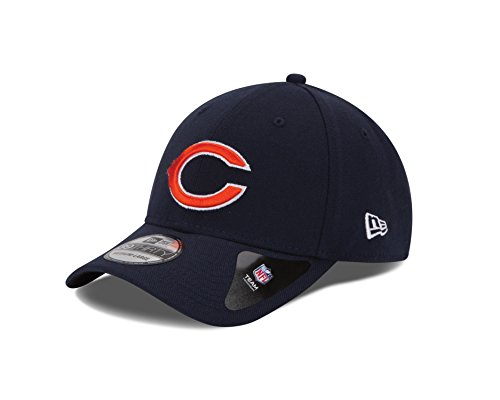 - NFL Chicago Bears Team Classic 39THIRTY Stretch Fit Cap, Small/Medium, Blue