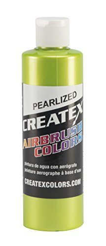 Createx Colors 5313-08 Paint for Airbrush, 8 oz, Pearl Lime