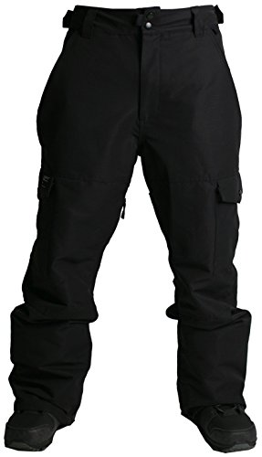 Ride Phinney Shell Pant - Men's Black Rip Stop Small by Ride