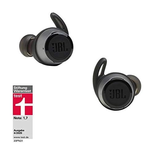 chollos oferta descuentos barato JBL Reflect Flow Auriculares inalámbricos intraaurales deportivos con Bluetooth y tecnologías TalkThru y AmbientAware hasta 20h de música negro