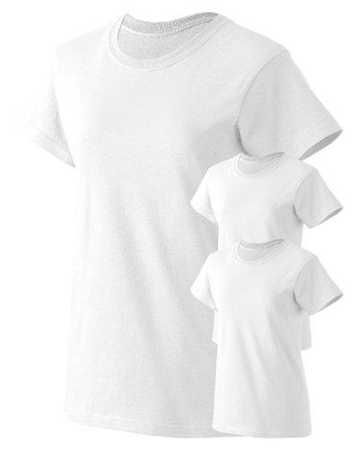 Gildan Women's Preshrunk Seamless Crewneck T-Shirt ( 3 Pack