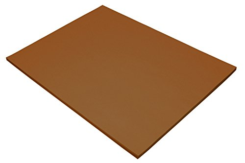 Pacon Tru-Ray Construction Paper - 18-Inches by 24-Inches - 50-Count - Warm Brown (103089)