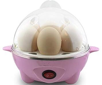 Pink Egg Boiler Steamer Electric Poacher Breakfast Boiled Eggs Clear up to 7 Egg MarkUK/® Pink