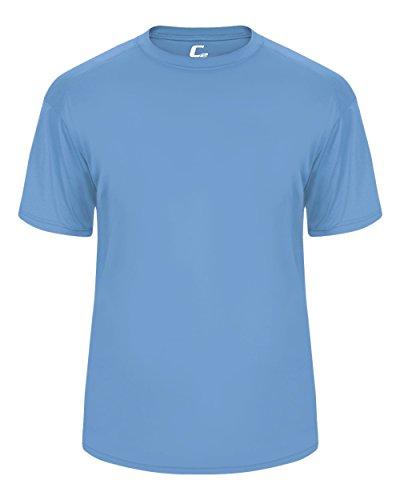 Columbia Light Blue Adult Medium Short Sleeve Performance Wicking Athletic Sports - Jersey Football Blue Columbia