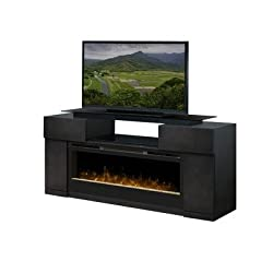 """Concord 73"""" TV Stand with Electric Fireplace by Dimplex"""