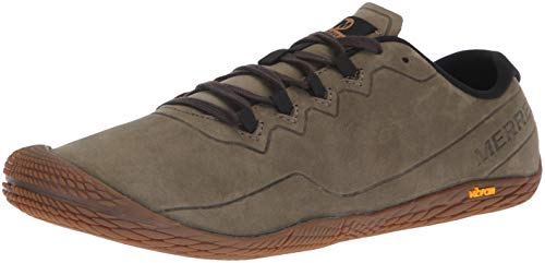 Merrell Men's Vapor Glove 3 Luna Leather Sneaker, Dusty Olive, 10 M US