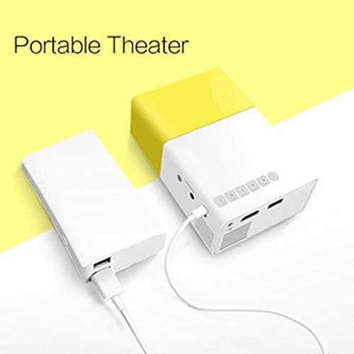 Graptsepk Yg300 Led Mini Proyector Audio Hdmi USB 3D Pico ...