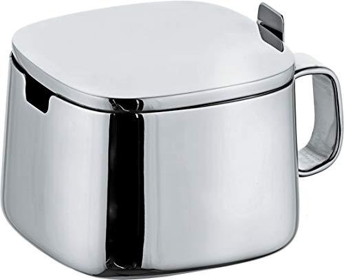 Alessi A404 Decorative Sugar Bowl, Silver
