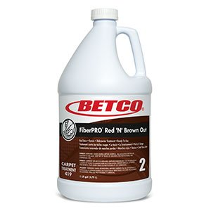 Fiberpro Red `N` Brown Out Red Stain / Tannin / Debrowner Treatment -4/1 Gallon by Betco