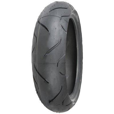 (190/55ZR-17 (75W) Shinko 010 Apex Rear Motorcycle Tire for Yamaha YZF-R1 2009-2018)