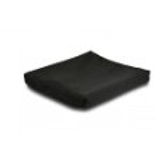Jay Basic Wheelchair Cushion, 16X18X2.5 Contour Foam With Cover, 1 each
