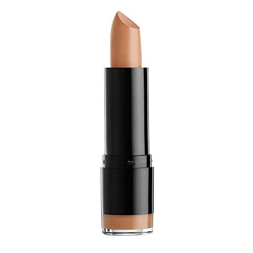 NYX PROFESSIONAL MAKEUP Extra Creamy Round Lipstick - Rea, Muted Beige With Mauve Tone