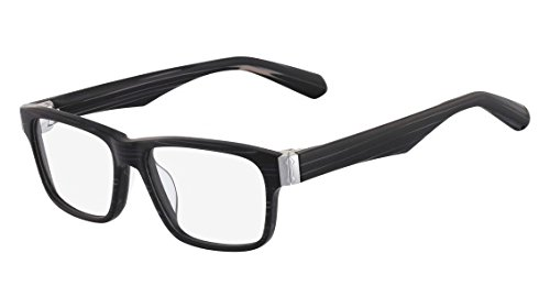 Dragon Kenny Eyeglasses DR110 023 Black Slate 53 (023 Eyeglasses)