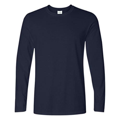 1 And T-shirt Cotton - Ranberone Men's Casual Classic Fit Long Sleeve Solid Heavy Cotton T-Shirt| 1-2 Pack