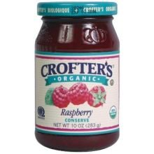 Crofters Food Ltd. Premium Sprd, Og, Raspbry, 10-Ounce (Pack of 6) by Crofters Food Ltd.