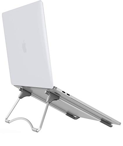"Laptop Stand, Adjustable Laptop Stand, Ergonomic Portable Notebook Stand, Foldable Aluminum Laptop Computer Riser Holder Mount for 10-15.6"" Notebook Computer Nextation"