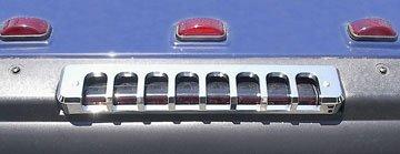 PRO-ONE HUMMER H2 SUV CHROME BILLET REAR UPPER BRAKE LIGHT COVER Suv Chrome Billet