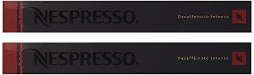 20 Nespresso OriginalLine: Decaffeinato Intenso - ''NOT compatible with Vertuoline''